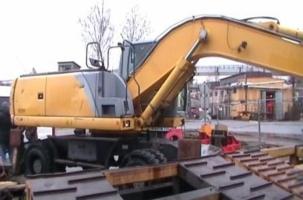 Таможня нашла 820 кг гашиша в экскаваторе