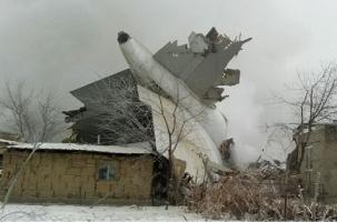 Гибельная посадка транспортного «Боинга» в Киргизии