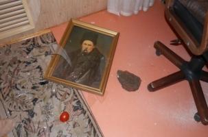 Ростовское генконсульство Украины закидали яйцами