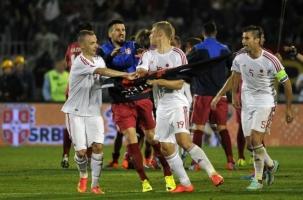 Сербия–Албания: бой на футболе