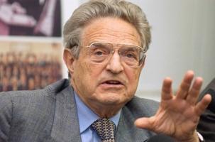 В Киев прилетел финансовый спекулянт Джордж Сорос