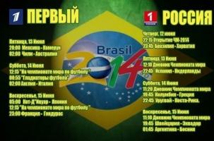 Не спать! Бразилия-2014 на ТВ